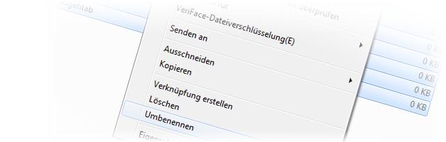 Mehrere Dateien umbenennen