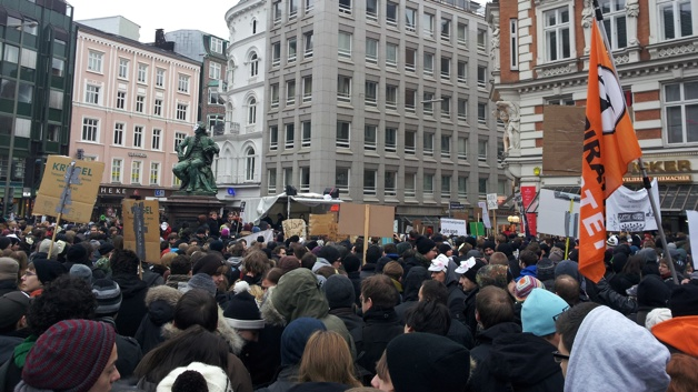 Eine Stopp ACTA-Demo in Hamburg