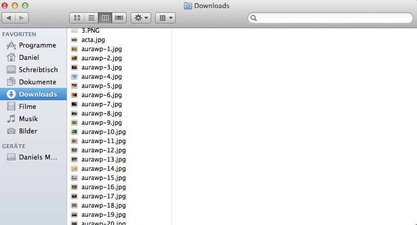 Jetzt sollten alle ausgewählten Dateien erfolgreich umbenannt worden sein.