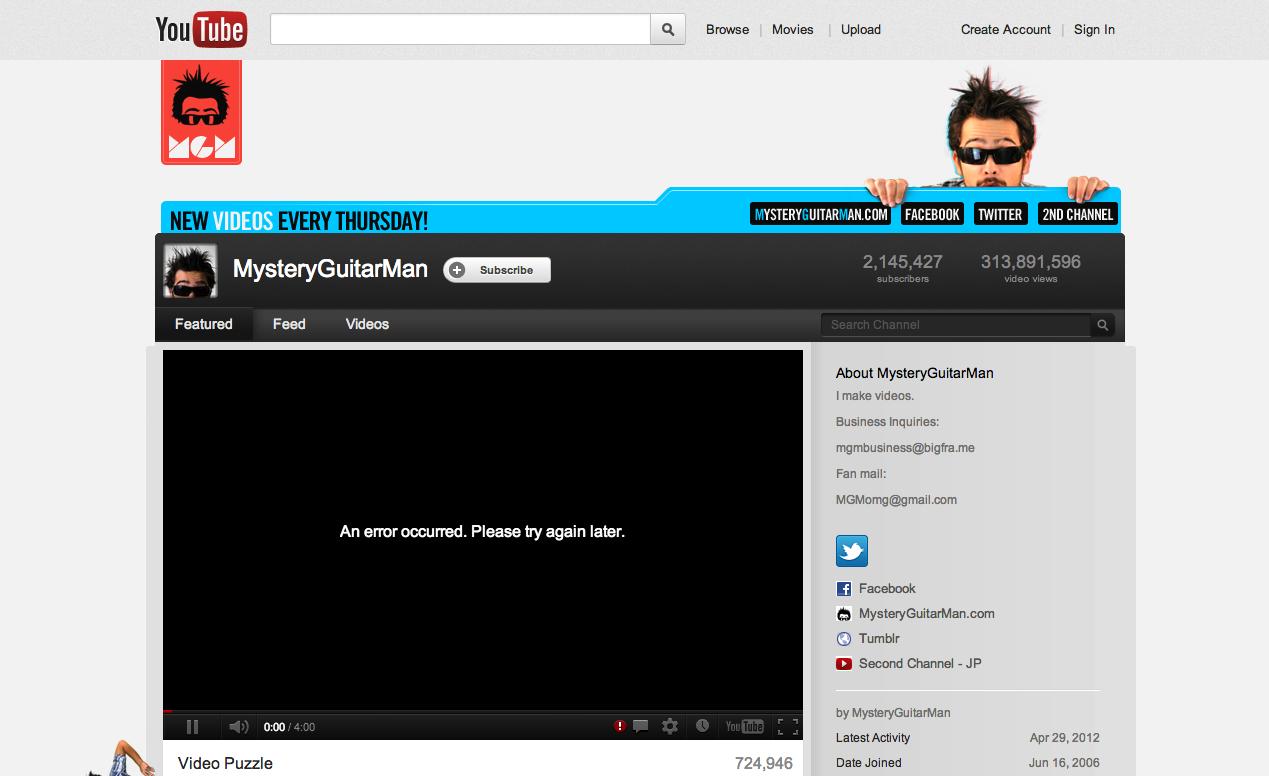 YouTube: Neues Kanaldesign verfügbar « Netroid