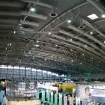 Blick über Halle 2