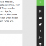Feedly Toolbar