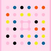 Verbindet man Punkte zu einem Kreis, verschwinden alle dieser Farbe