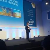 Pressekonferenz bei Intel 2