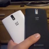 Der Vergleich der weißen und der schwarzen Version