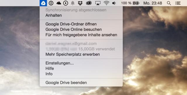 GDrive OSX